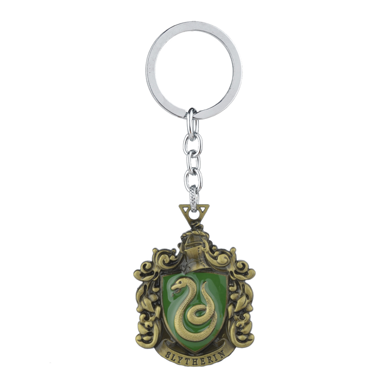 Harry Potter Magic School Crest Key Chain