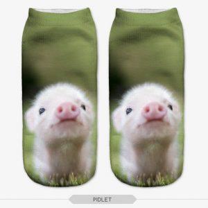 3D Printed Animal Socks - pig