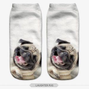 3D Printed Animal Socks - pug