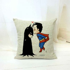 Batman & Superman Cushion Covers