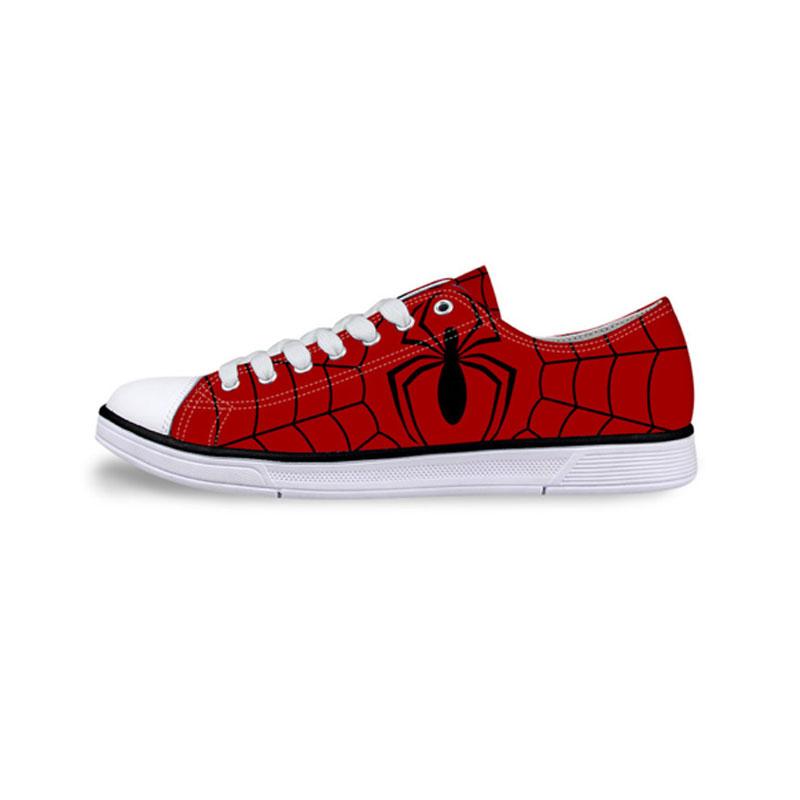 Men's Low Top Superhero Sneakers