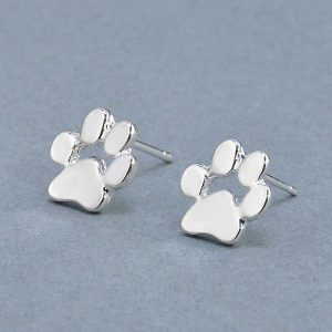 Paw Stud Earrings