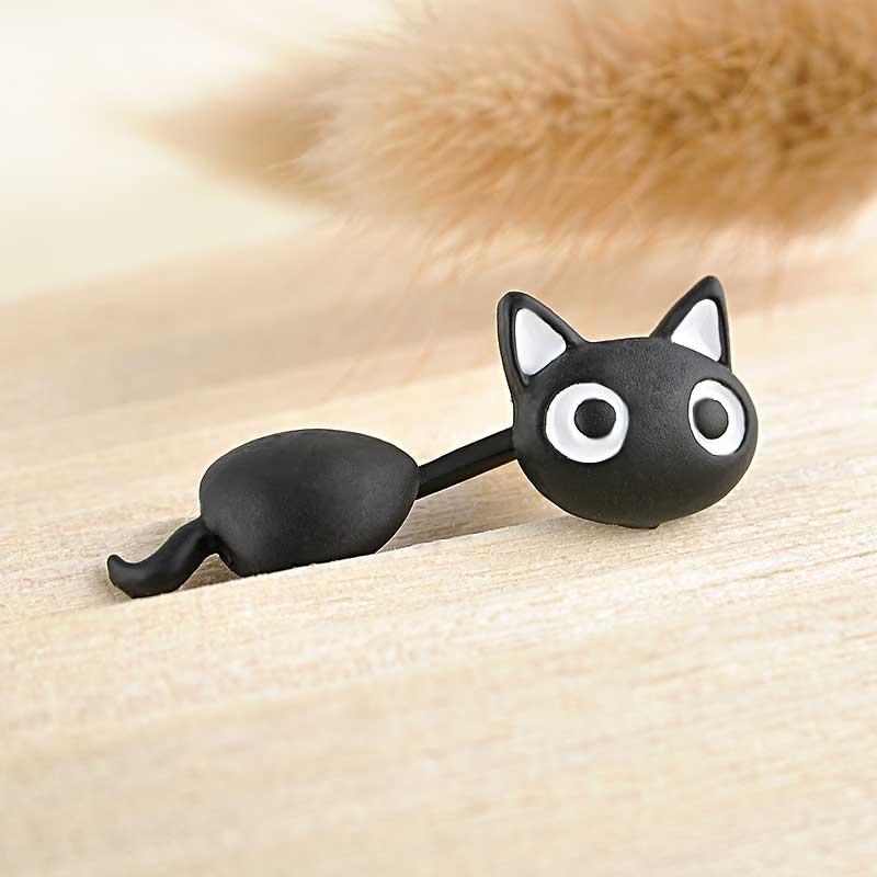 Cat Stud Earings