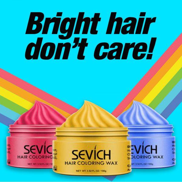 Temporary Hair Coloring Wax