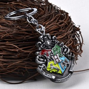 Harry Potter Magic School Crest Key Chain