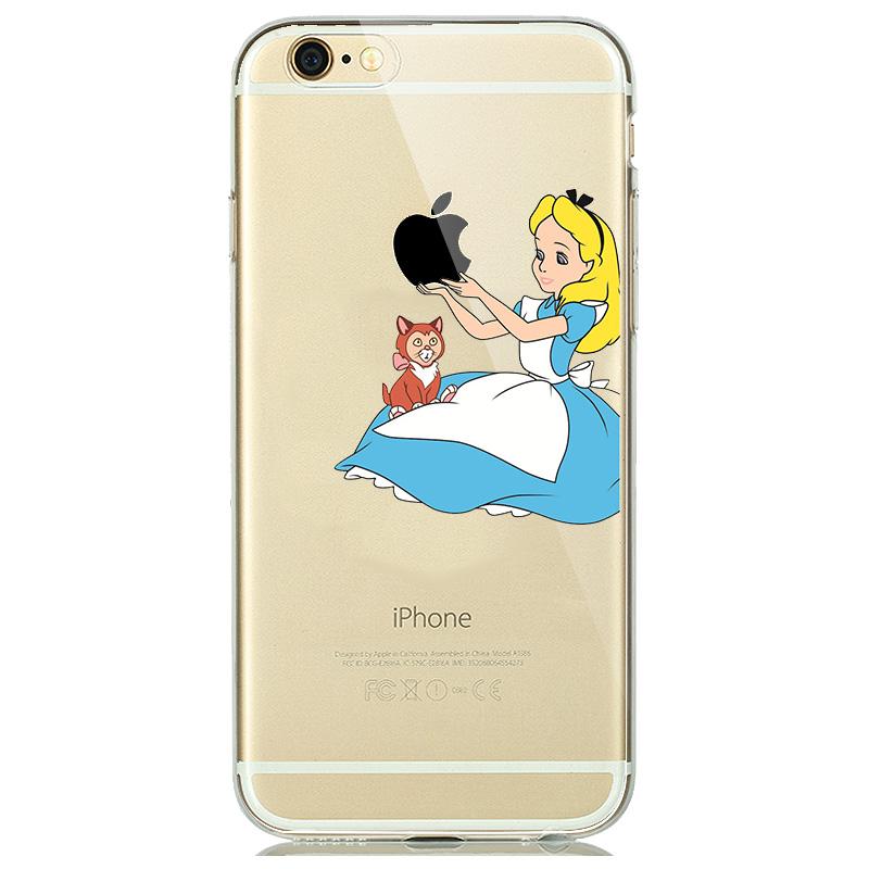 Alice in Wonderland Soft Case for iPhone - PopRocking
