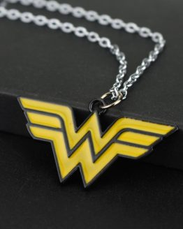 Wonder Woman Torque Alloy Necklace Pendant