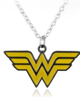 Wonder Woman Torque Alloy Necklace Pendant