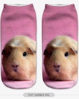 Guinea Pig 3D Printed Animal Socks