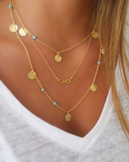 Layer infinity Necklace