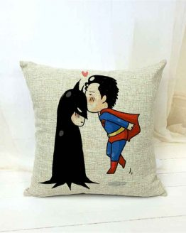 Batman & Superman Cushion Covers