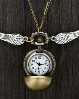 Harry Potter Golden Snitch Pocket Watch