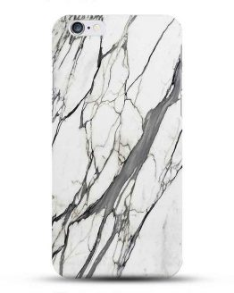 White Marble iPhone Cover