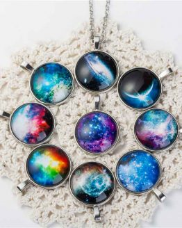 Nebula Space Pendants