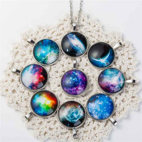 Nebula Space Pendants