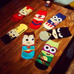 Superhero-Socks