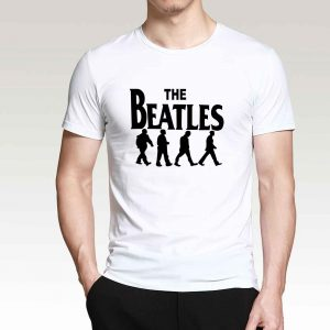 The Beatles Mens Tee White