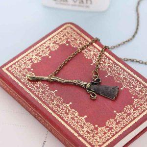 Harry Potter Broom Necklace