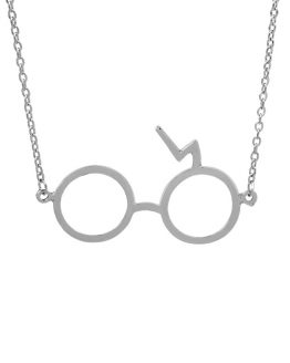 Harry Potter Lightning Glasses Necklace