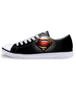 Men's Low Top Superhero Sneakers