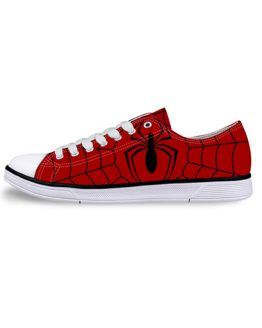 Woman's Low Top Superhero Sneakers