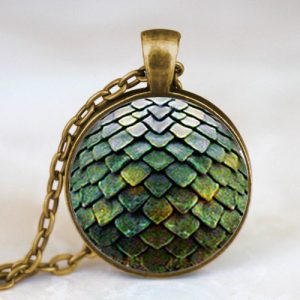 Game of Thrones Dragon Egg Pendant Necklace